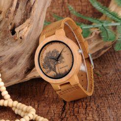 Zegarek drewniany Bobo Bird Pic Tree P20-4 3