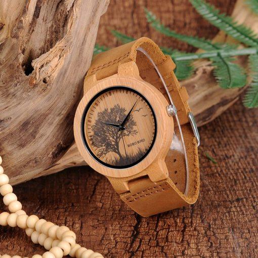 Zegarek drewniany Bobo Bird Pic Tree P20-4