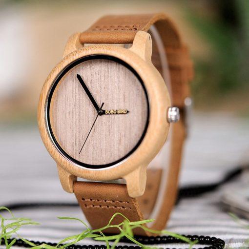 Zegarek drewniany Bobo Bird Eco A22 2