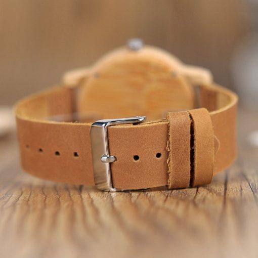 Zegarek drewniany Bobo Bird Eco A22 3