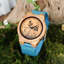 Zegarek drewniany Bobo Bird Pic Meadow P20-6