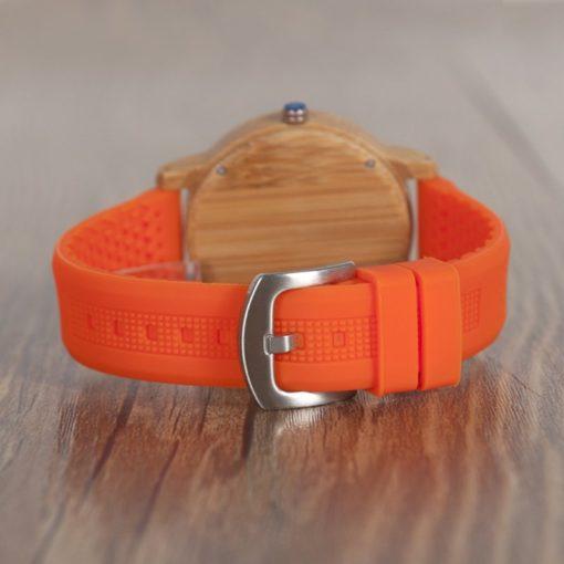 Zegarek Bobo Bird Color Silikon Orange B05 2