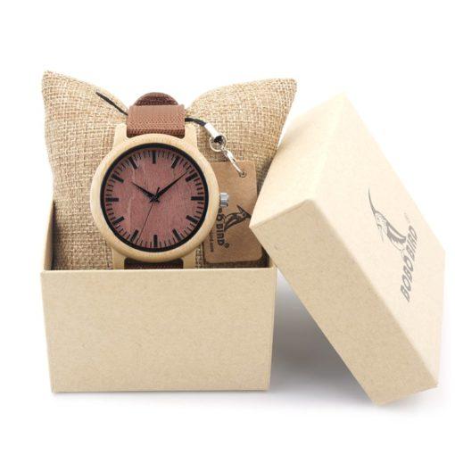 Zegarek drewniany Bobo Bird Style D09 2