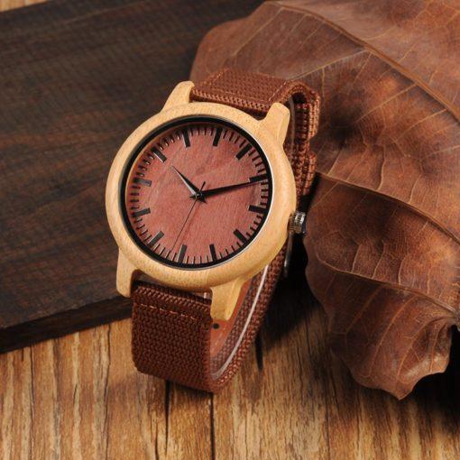 Zegarek drewniany Bobo Bird Style D09 4