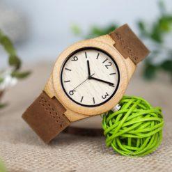 Zegarek drewniany Bobo Bird Note A32 damski 3