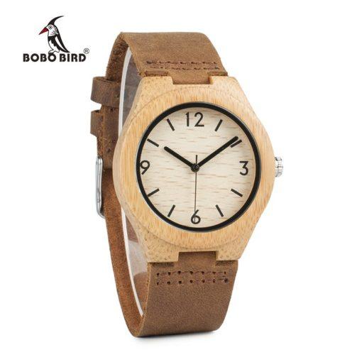 Zegarek drewniany Bobo Bird Note A32 damski