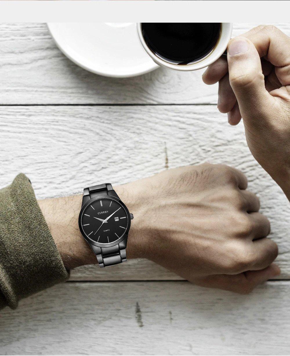 Zegarek Curren Classic czarny 7