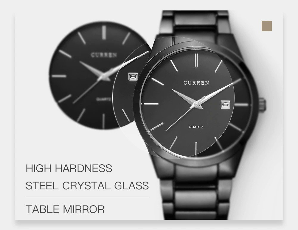 Zegarek Curren Classic czarny 9