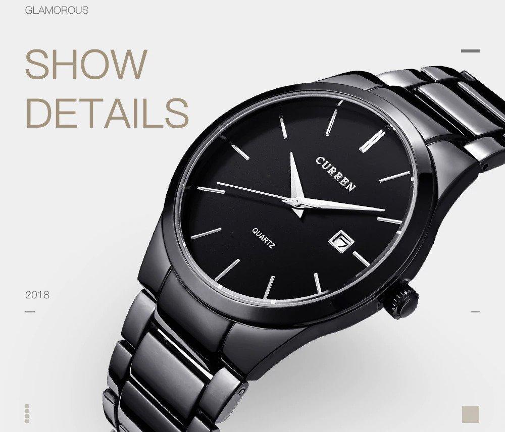 Zegarek Curren Classic czarny 10