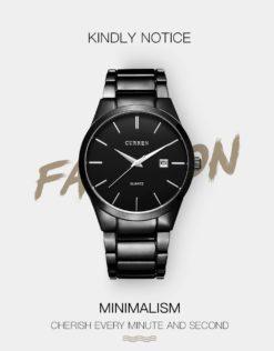 Zegarek Curren Classic czarny 4