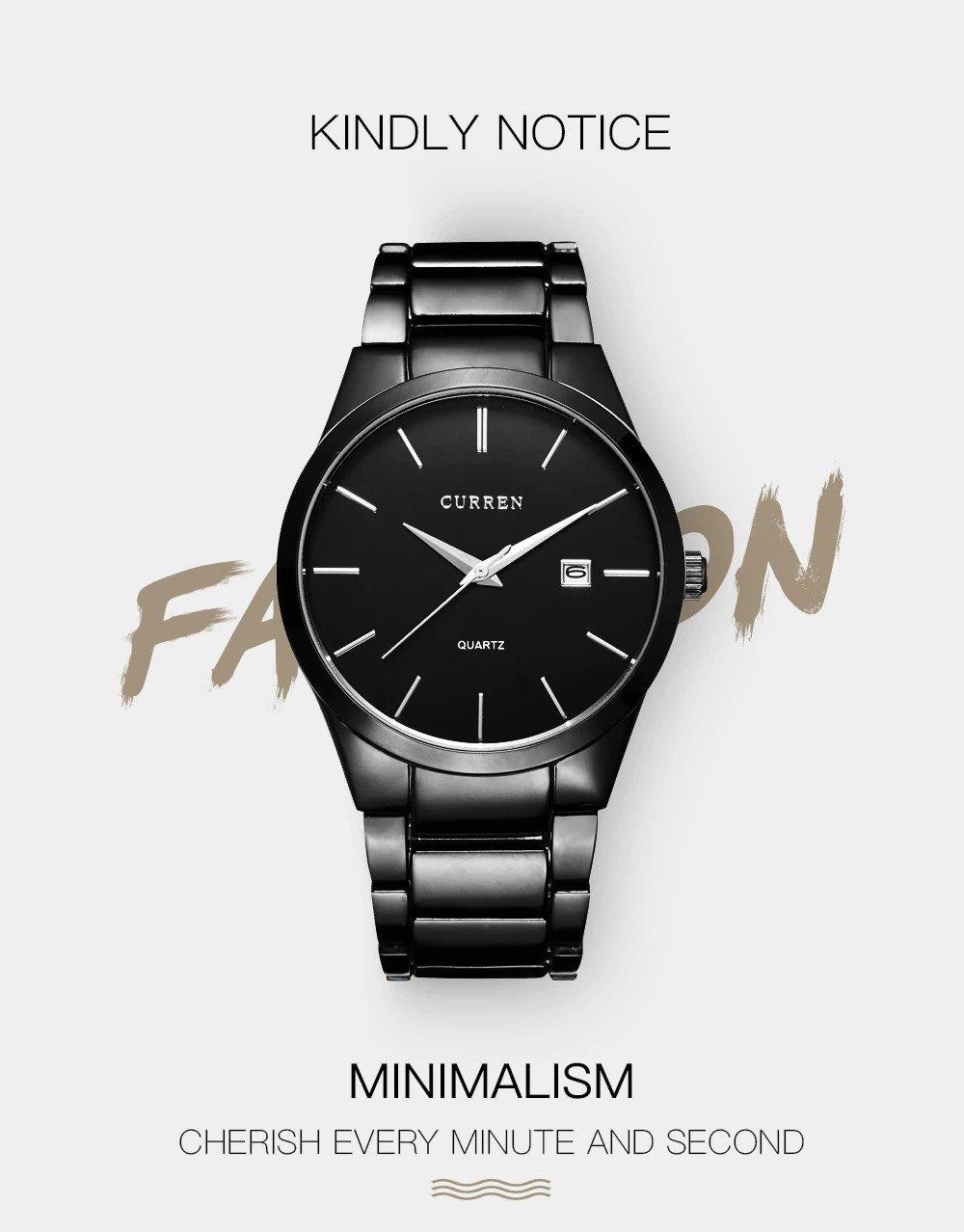 Zegarek Curren Classic czarny 11