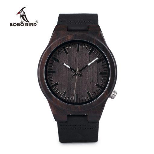 Zegarek drewniany Bobo Bird Dark B12