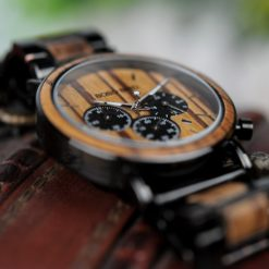 Zegarek drewniany Bobo Bird Logos 4