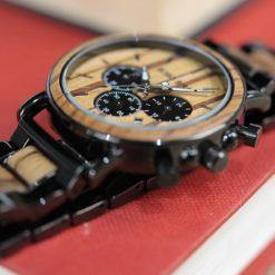 Zegarek drewniany Bobo Bird Logos 1