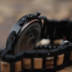 Zegarek drewniany Bobo Bird Max P09-1 bransoleta 2