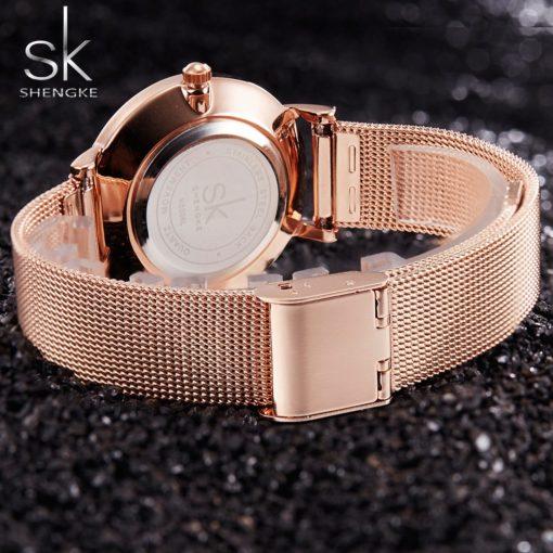 Zegarek Shengke Milan złoty