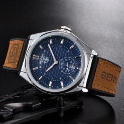 Zegarek Benyar Horizont niebieski 4