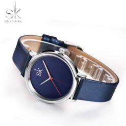 Zegarek Shengke Joy niebieski 8