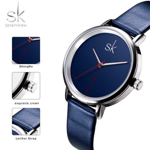 Zegarek Shengke Joy niebieski 6