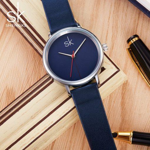 Zegarek Shengke Joy niebieski 4
