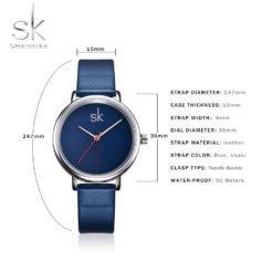 Zegarek Shengke Joy niebieski 10