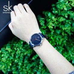 Zegarek Shengke Joy niebieski 7