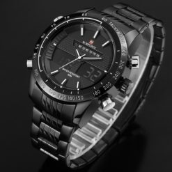 Zegarek Naviforce Power czarny czerwony 3