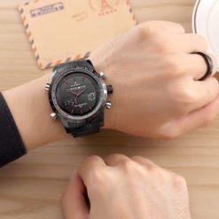 Zegarek Naviforce Power czarny czerwony 5