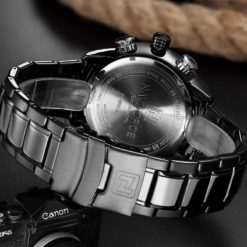 Zegarek Naviforce Rigor czarny biały 5