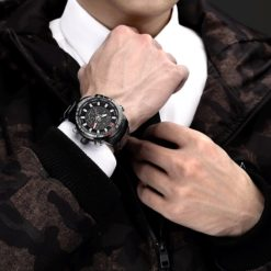 Zegarek Naviforce Rigor czarny biały 2