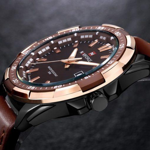Zegarek Naviforce Harry czarny złoty 4