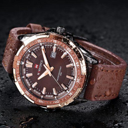 Zegarek Naviforce Harry czarny złoty 5