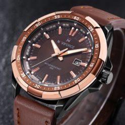 Zegarek Naviforce Harry czarny złoty 8