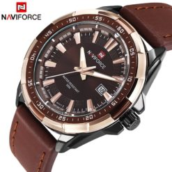 Zegarek Naviforce Harry czarny złoty 6