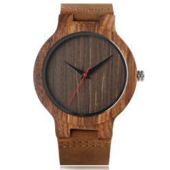 Zegarek Yisuya Wood brązowy 4