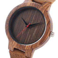 Zegarek Yisuya Wood brązowy 5