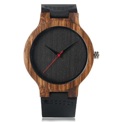 Zegarek Yisuya Wood czarny 1