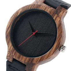 Zegarek Yisuya Wood czarny 3
