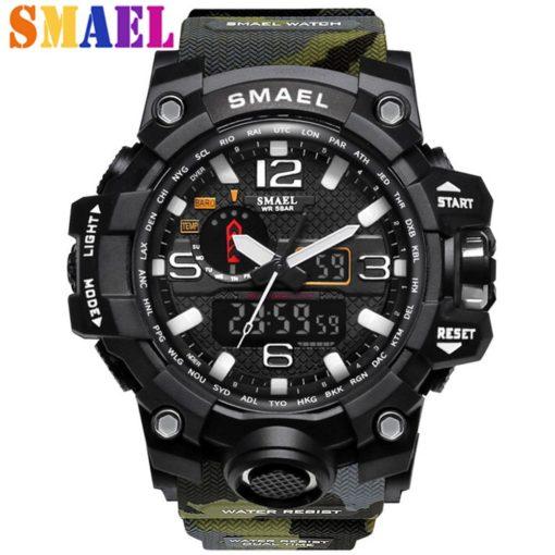 Zegarek Smael Camouflage moro 1