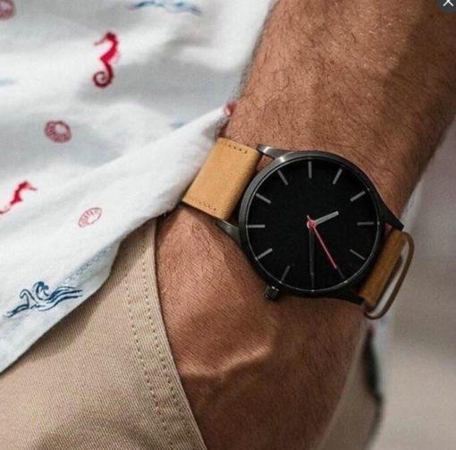 Zegarek Tempter Classic brązowy czarny 5