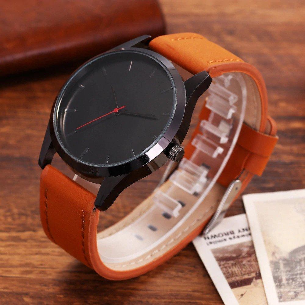Zegarek Tempter Classic brązowy czarny 18