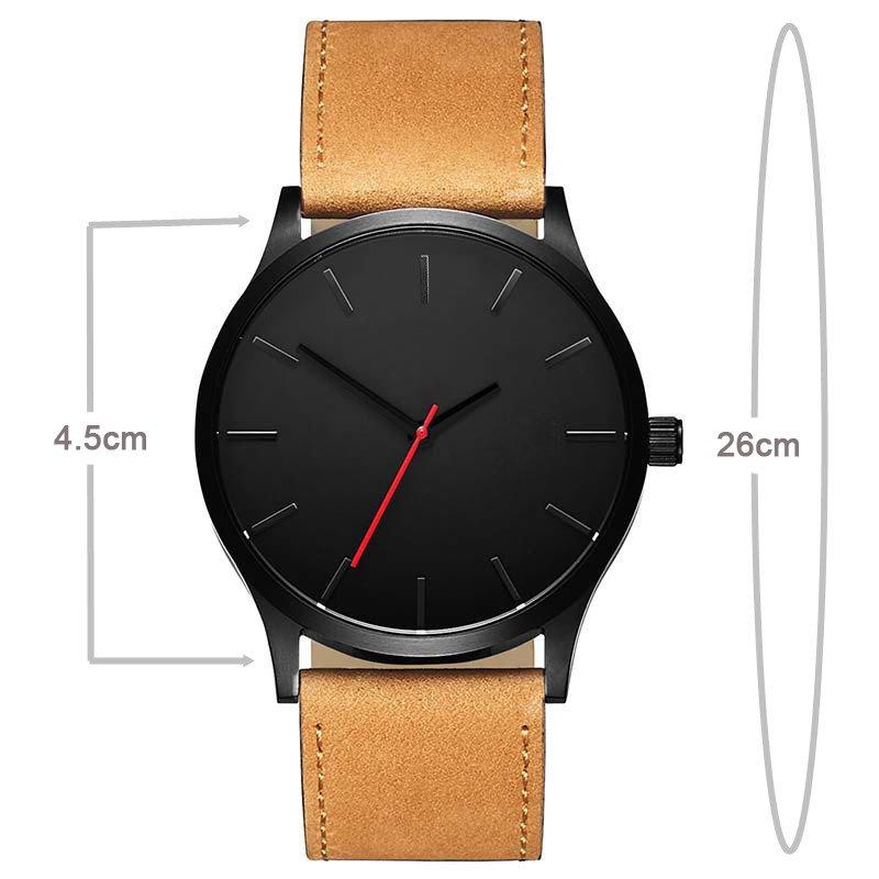 Zegarek Tempter Classic brązowy czarny 14