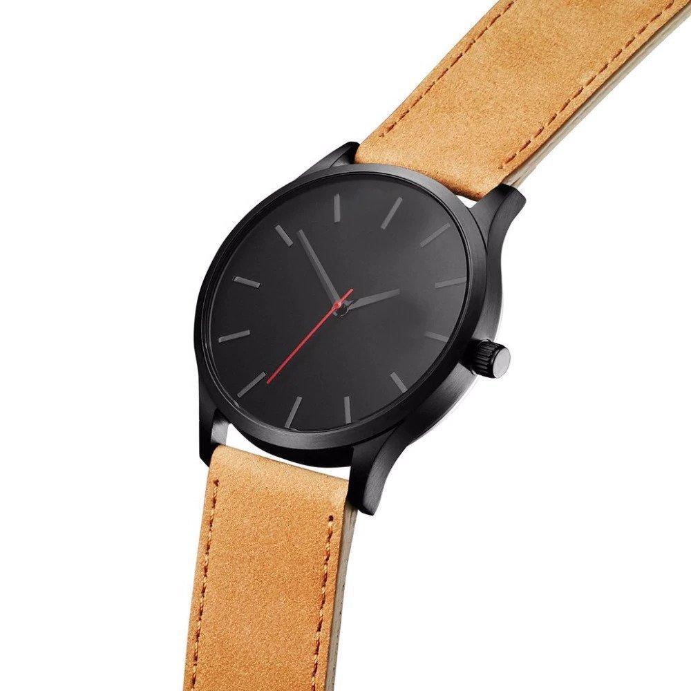 Zegarek Tempter Classic brązowy czarny 15