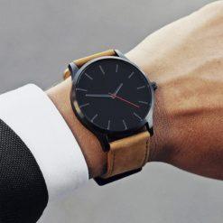 Zegarek Tempter Classic brązowy czarny 7