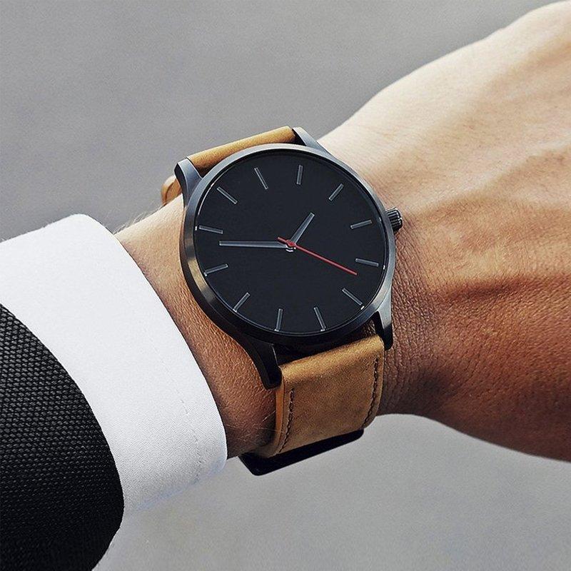Zegarek Tempter Classic brązowy czarny 16