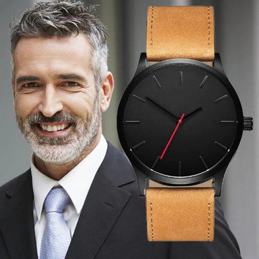 Zegarek Tempter Classic brązowy czarny 3