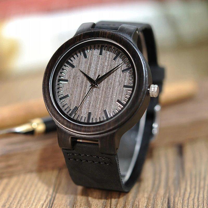Drewniany zegarek Bobo Bird Shade C26