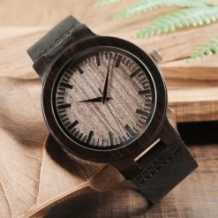 Zegarek drewniany Bobo Bird Shade C26 pasek 7