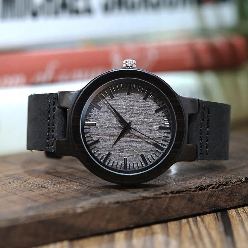 Zegarek drewniany Bobo Bird Shade C26 pasek 8