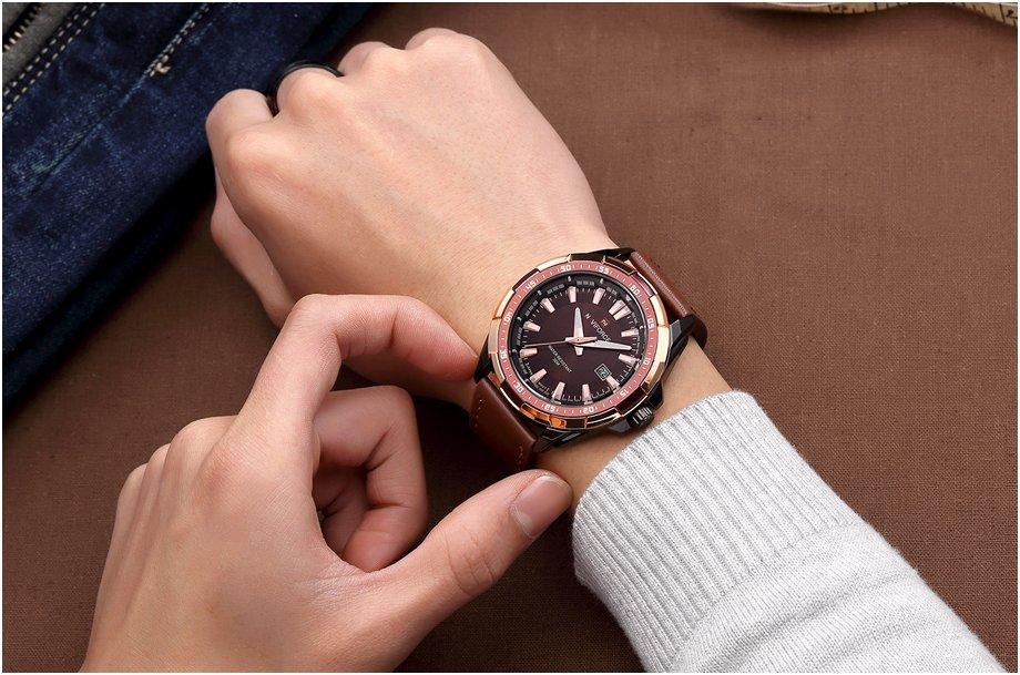 Zegarek Naviforce Harry czarny złoty 11